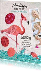 Kinderfeestjes - Flamingo Zomer Zwem Feestje