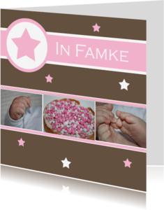 Fryske kaartsjes - Frysk bertekaartsje famke