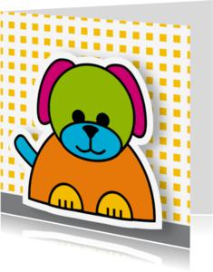 Geboortekaartjes - geboorte hond 03
