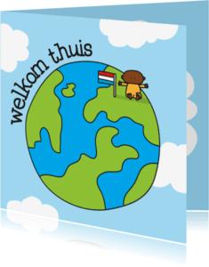 Geboortekaartjes - Geboortekaartje Adoptie Wereld