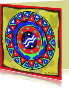 Religie kaarten - GeluksMandala