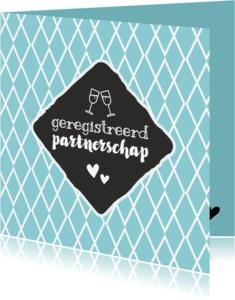 Felicitatiekaarten - Geregistreerd partnerschap - retro