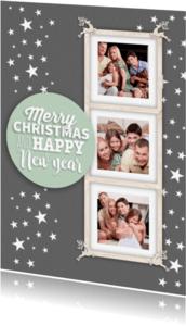 Kerstkaarten - Gezellig fotolijstje-isf