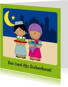 Religie kaarten - Gezellig Suikerfeest!