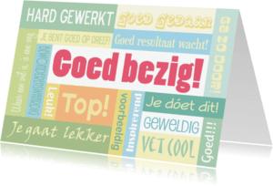Coachingskaarten - Goed bezig Top!