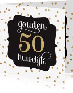 Jubileumkaarten - Gouden huwelijk jubileum
