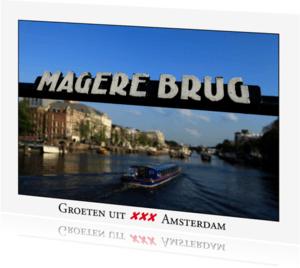 Ansichtkaarten - Groeten uit Amsterdam XI