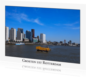 Ansichtkaarten - Groeten uit Rotterdam XI