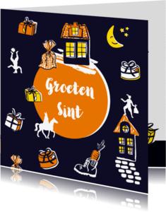 Sinterklaaskaarten - Groeten van de Sint