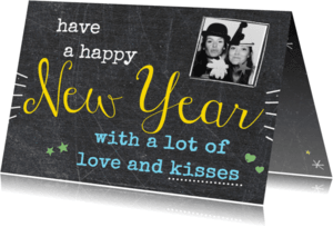 Nieuwjaarskaarten - have a happy New Year -BF