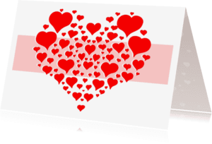 Liefde kaarten - Heel veel liefde