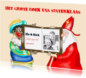 Sinterklaaskaarten - Het grote boek van Sinterklaas