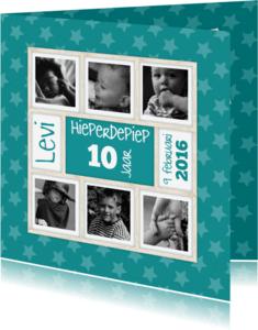 Verjaardagskaarten - Hieperdepiep sterren-isf
