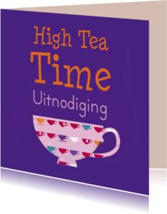 Uitnodigingen - High tea kopjes 1