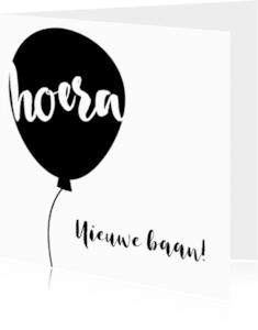 Felicitatiekaarten - Hoera! Ballon!