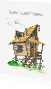 Verhuiskaarten - Home sweet home Illu-Straver