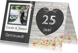 Felicitatiekaarten - jubileum felicitatie hart