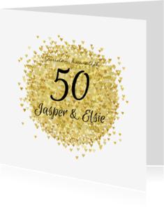 Uitnodigingen - Jubileum vijftig goud av