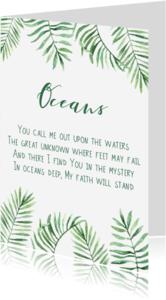 Religie kaarten - Kaart
