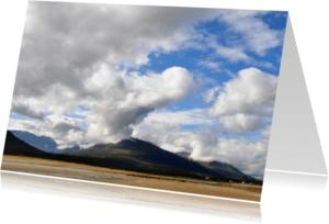 Religie kaarten - Kaart Wolkenlucht