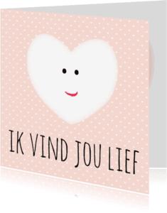 Liefde kaarten - Kaartje