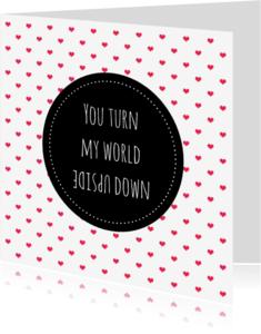 Valentijnskaarten - Kaartje