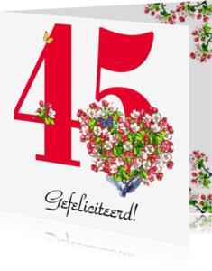 Felicitatiekaarten - KendieKaart-45-Blossom hearts