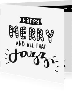 Kerstkaarten - Kerst And all that jazz