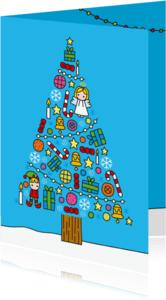Kerstkaarten - Kerst Boompje