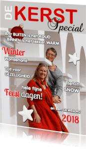 Kerstkaarten - Kerst cover eigen foto 2018 - OT