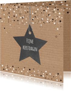 Kerstkaarten - Kerst - Karton, sterren
