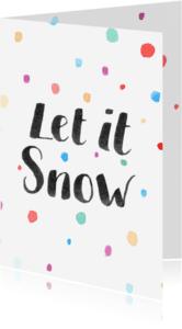 Kerstkaarten - Kerst-snow-watercolour-ADG