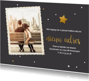Kerstkaarten - Kerst verhuiskaart met foto