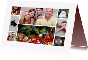 Kerstkaarten - Kerstcollage kaart - Remco
