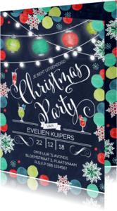 Uitnodigingen - Kerstfeest Party Kerst Christmas