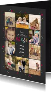 Kerstkaarten - Kerstkaart 10 fotos collage