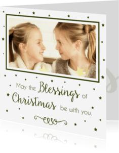 Kerstkaarten - Kerstkaart Blessings 2 - WW