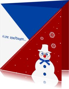 Kerstkaarten - Kerstkaart CliniClowns rwb 2a