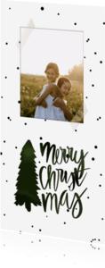 Kerstkaarten - Kerstkaart dennenboom