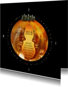 Kerstkaarten - Kerstkaart jij en ik 2018