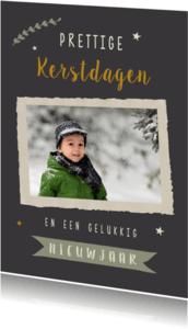 Kerstkaarten - Kerstkaart met foto en tekst
