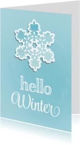 Kerstkaarten - Kerstkaart Papercutting - SG