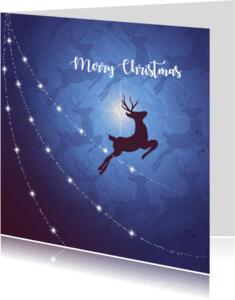 Kerstkaarten - Kerstkaart rendieren+lichtjes-IP