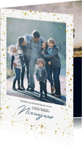 Kerstkaarten - Kerstkaart Sterren foto familie