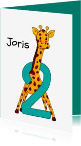 Kinderfeestjes - Kinderfeestje 2 jaar giraf - HR