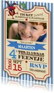 Kinderfeestjes - Kinderfeestje Circus Ticket