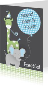 Kinderfeestjes - Kinderfeestje dieren jongen