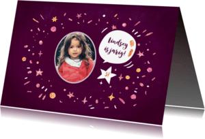 Kinderfeestjes - Kinderfeestje Glitterfestijn meisje