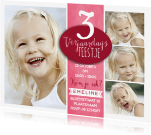 Kinderfeestjes - Kinderfeestje Leeftijd Meisje