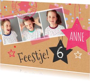 Kinderfeestjes - Kinderfeestje meisje sterren